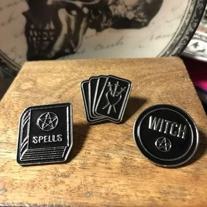 Witchy Pin Set